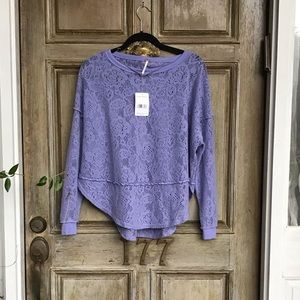 NWT | Free People | Not Cold In This Top